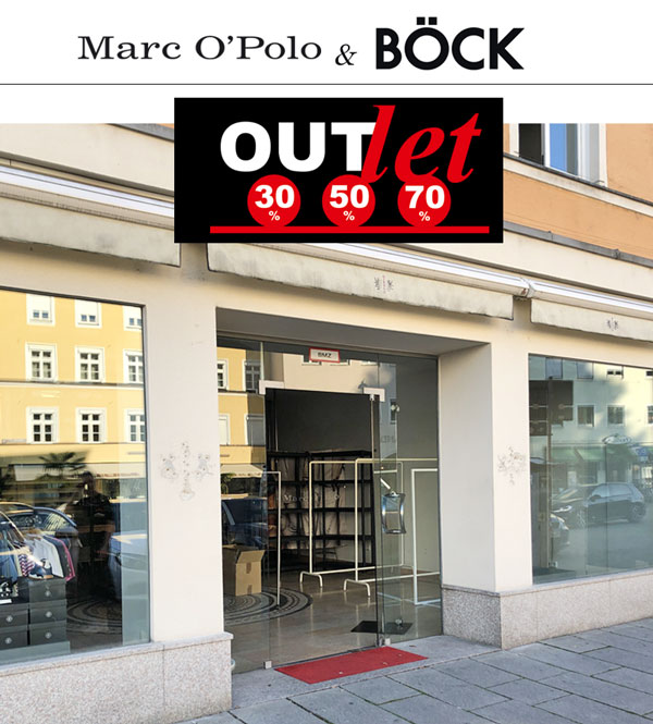 Böck und Marc O'Polo Outlet