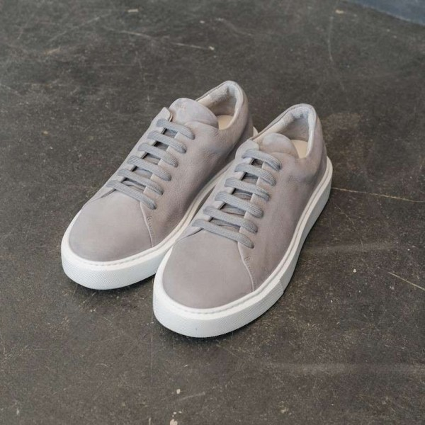 Copenhagen Sneaker CPH407M nabuc light grey